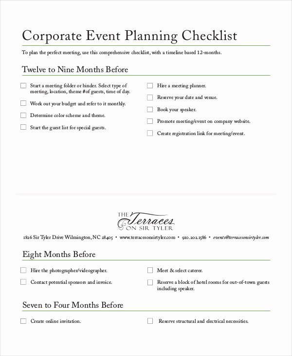Checklist Template 19 Free Word Excel Pdf Documents