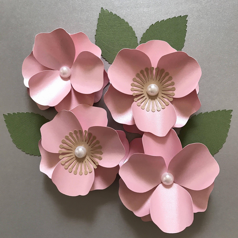 Cherry Blossom Paper Flower Paper Flower Template Flower
