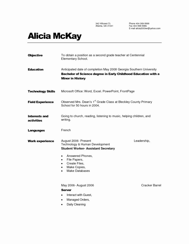 Child Care Provider Resume Sample Provider Resume
