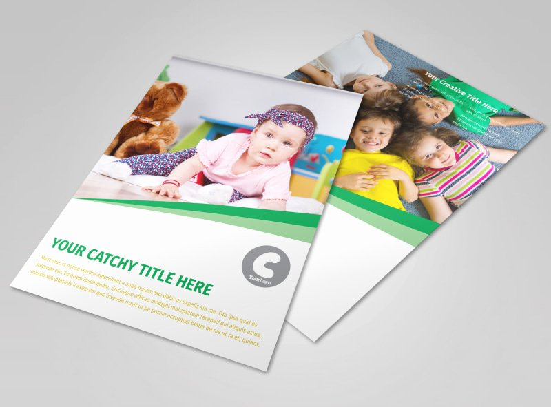 Child Daycare Flyer Template