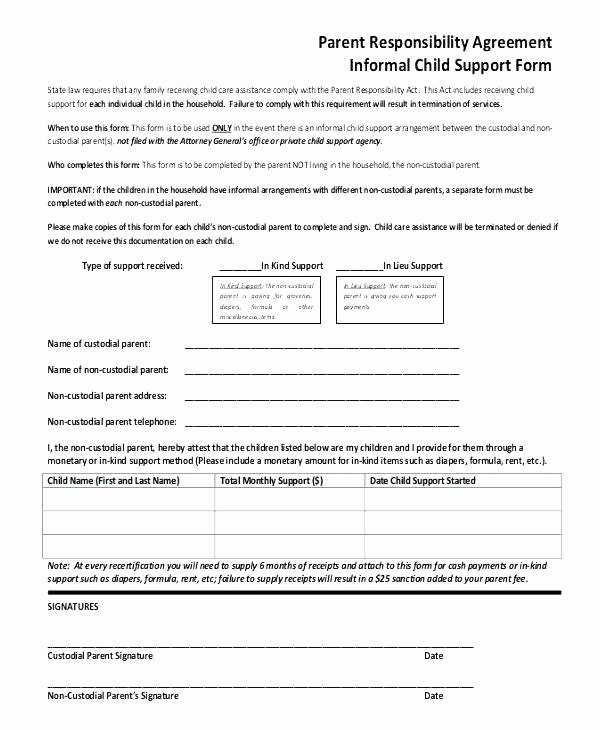Child Support Receipt Template – Arbitra Radingbondub
