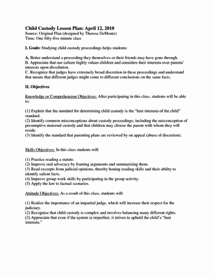 Child Visitation Agreement Template Sampletemplatess