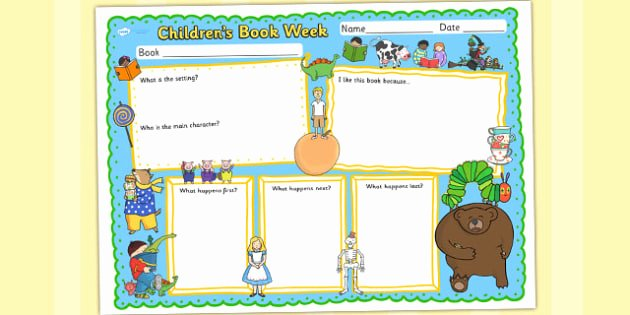 t m 1556 childrens book week book review template