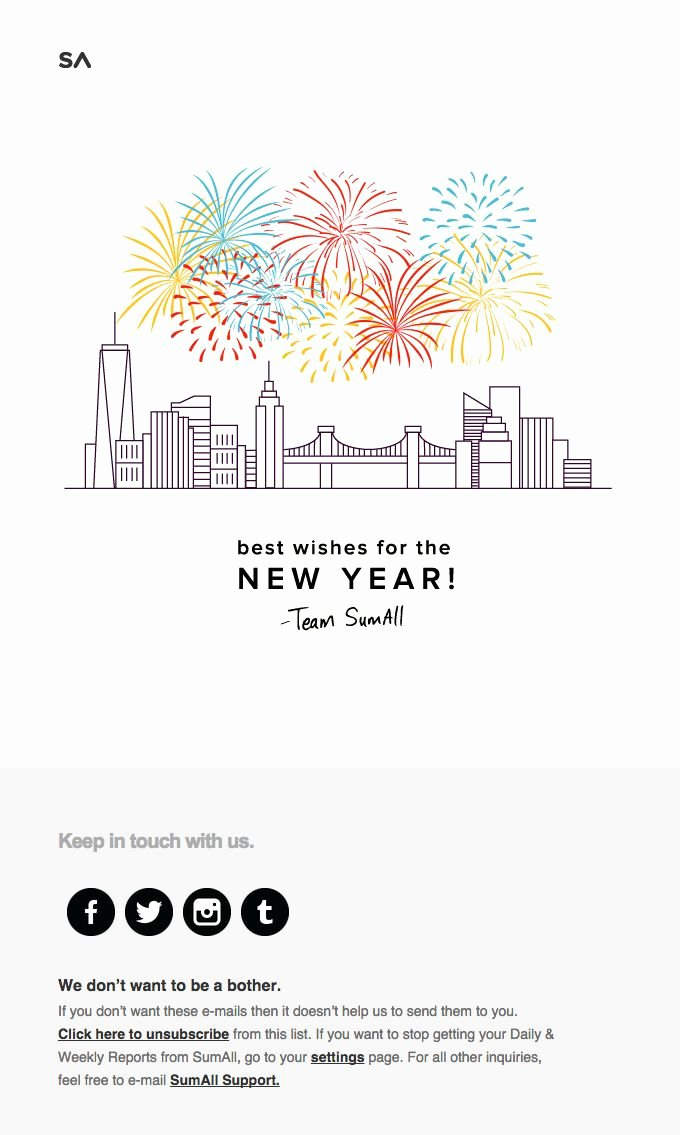 Chinese New Year Email Template – Merry Christmas & Happy