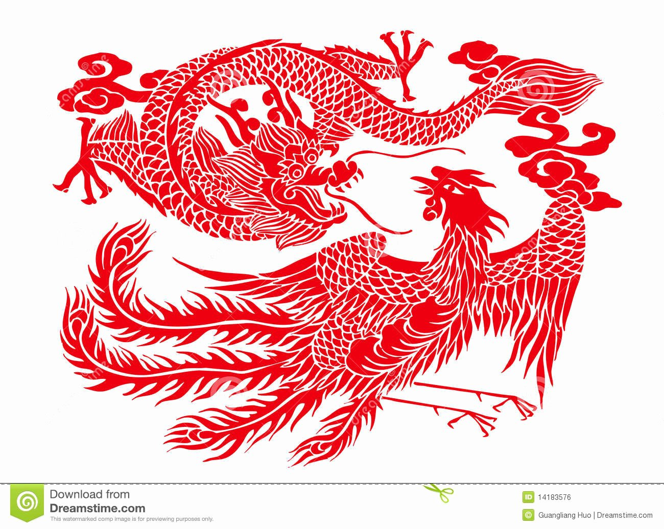 Chinese Paper Cutting Stock Illustration Image Of Crafts