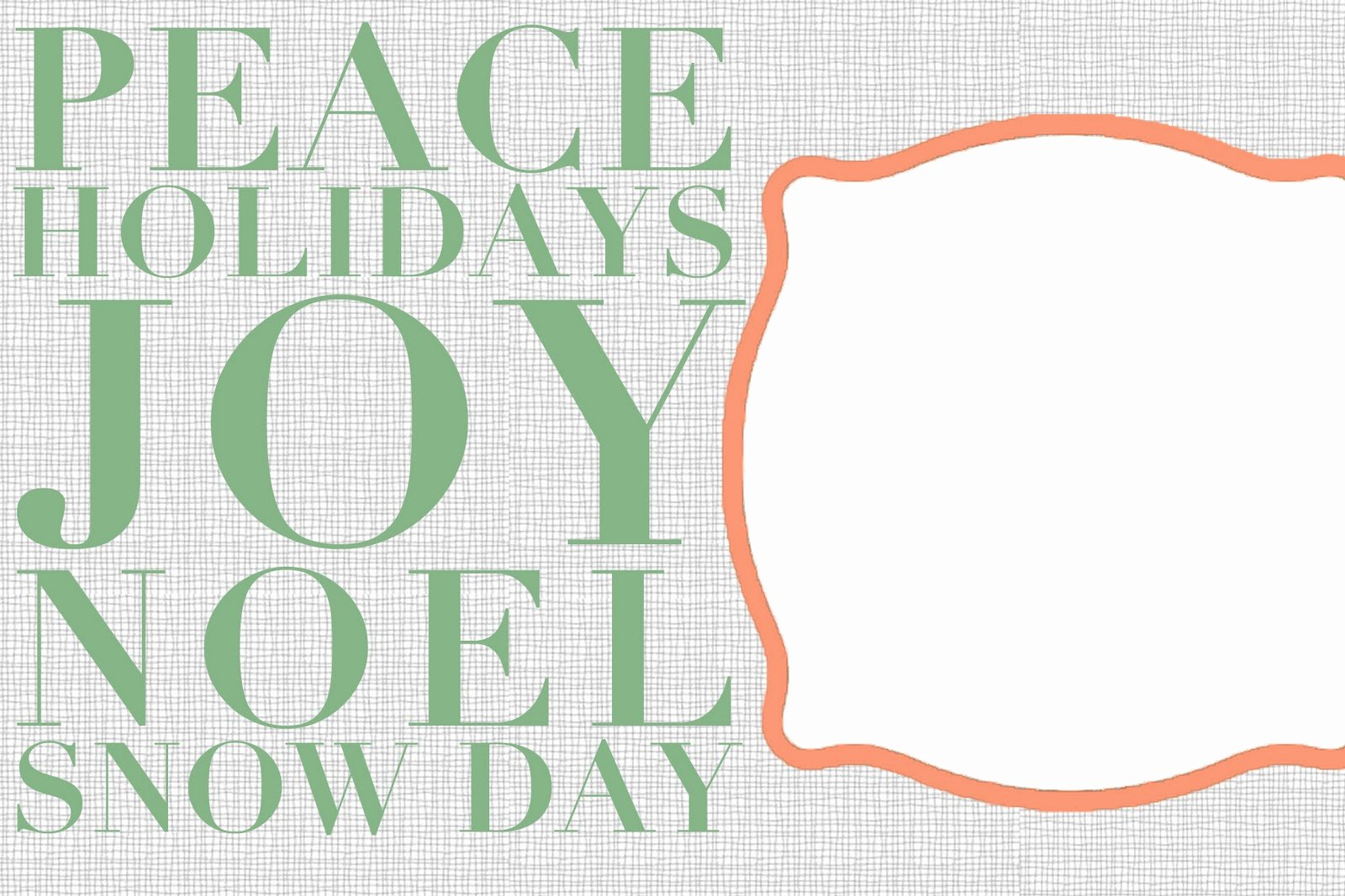 Chloe Moore Graphy the Blog Free Christmas Card