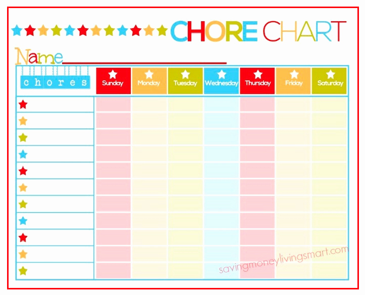 Chore Ideas for Kids Plus Free Printable Chore Chart