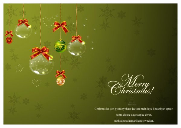 Christmas Card Templates Addon Pack Free Download