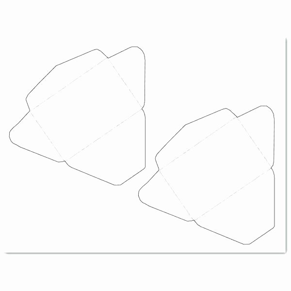 Christmas Gift Card Envelope Template Small for Business