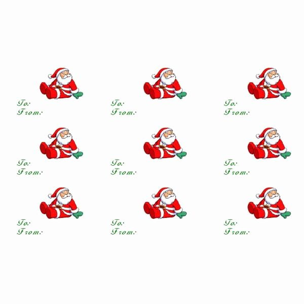 Christmas Gift Labels Templates Word – Fun for Christmas