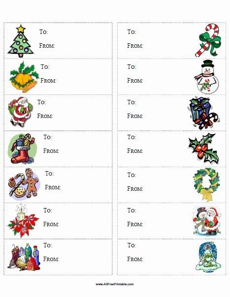 Christmas Gift Tags Free Printable Allfreeprintable