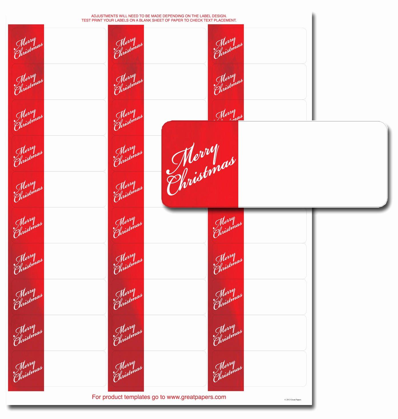 Christmas Label Templates Avery 5163 – Christmas Fun Zone