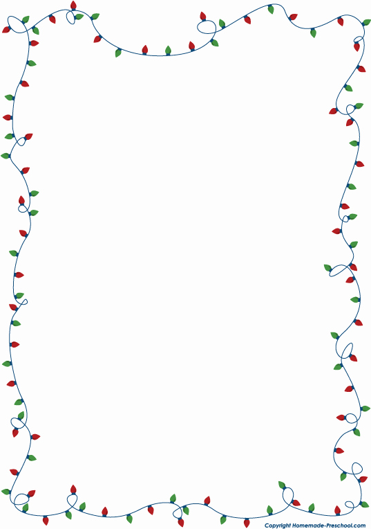 Christmas Light Clipart Clipartion