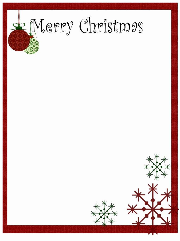 Christmas Menu Templates Free Word