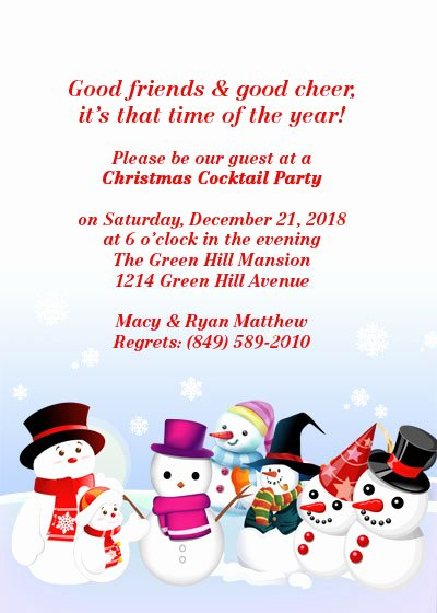 Christmas Party Free Invitation Template ← Wedding