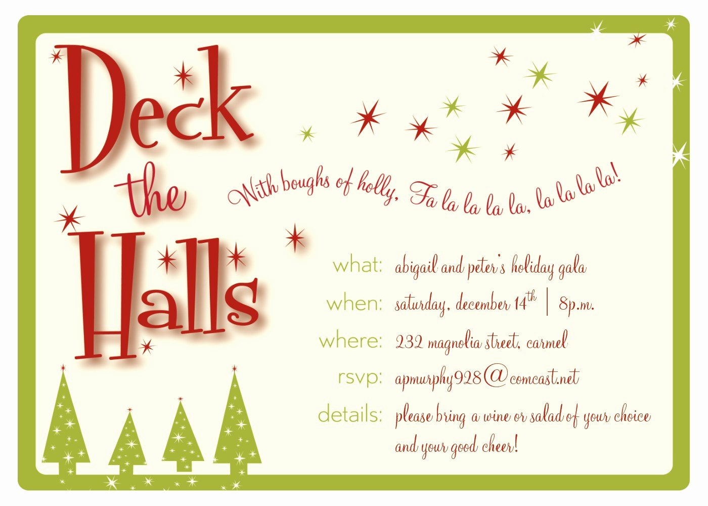 Christmas Party Ticket Template Free Templates Station