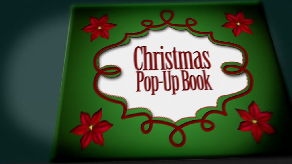 Christmas Pop Up Book Project after Effects Templates