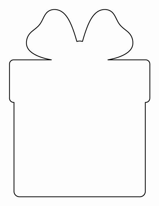 Christmas Present Pattern Use the Printable Outline for