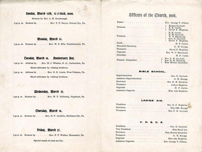 Church Banquet Program Sample Templates Resume