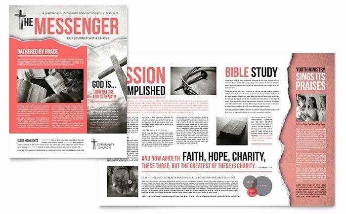 Church Bulletin Templates Microsoft Publisher Templates