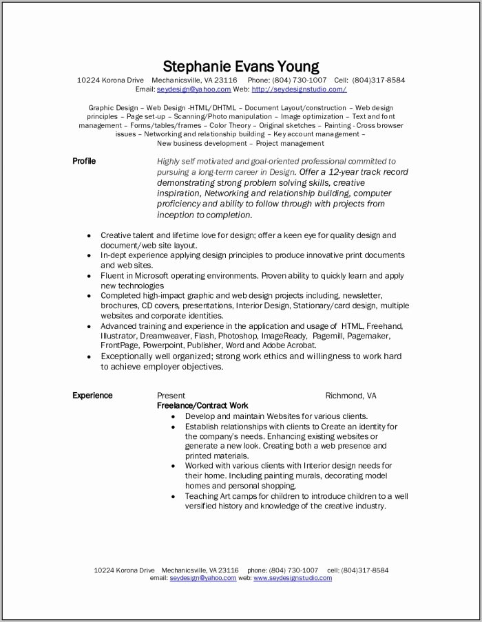 Church Graphic Design Templates Template Resume