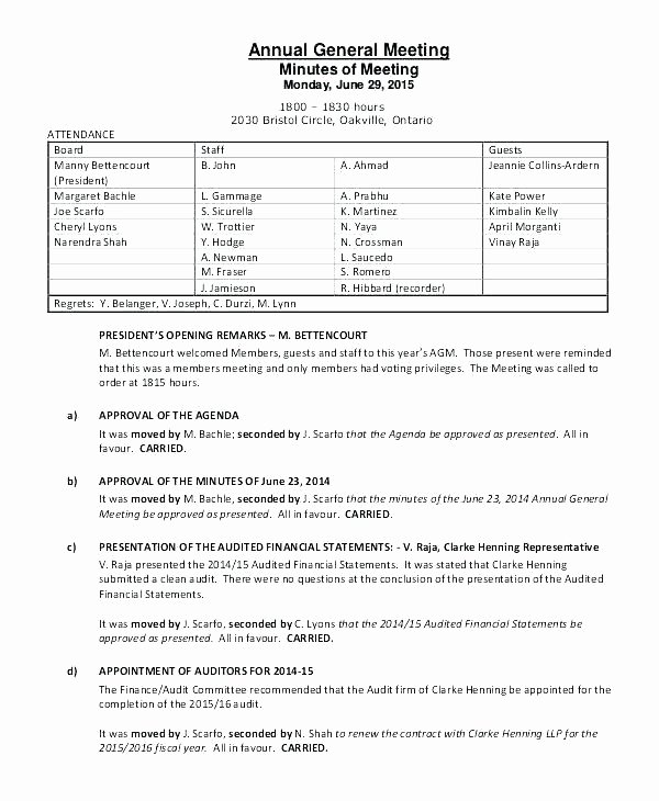 Church Meeting Minutes Template Unique Templates for