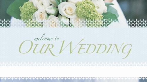 Church Powerpoint Template Wel E Wedding
