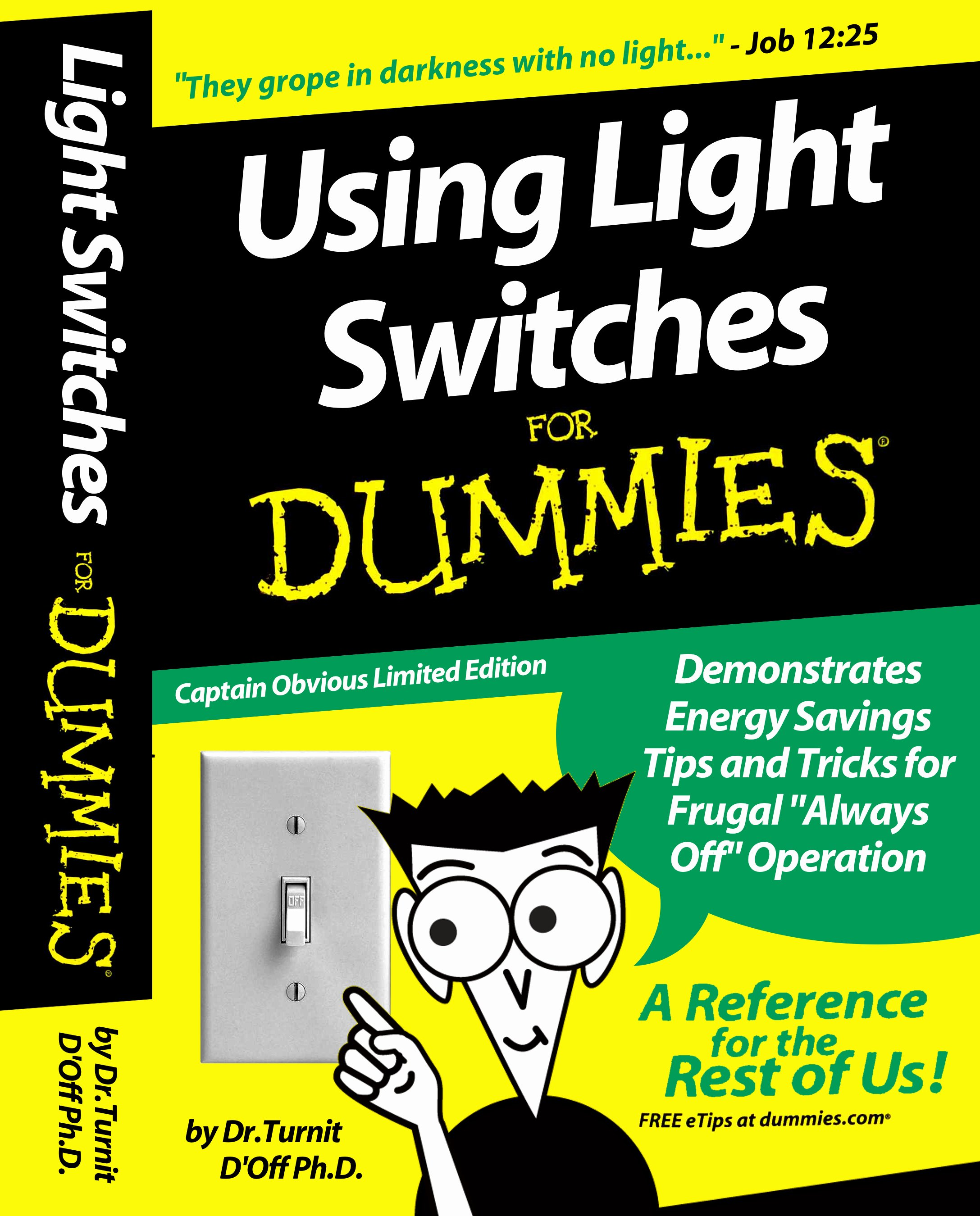 Cigarbox Light Switch Cover for Dummies