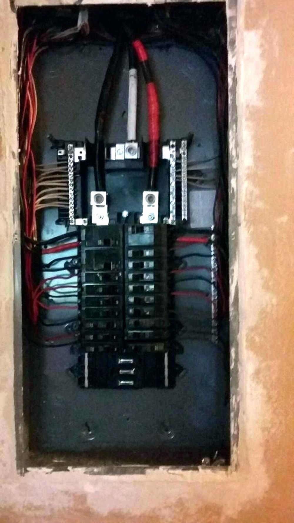 Circuit Breaker Panel Template
