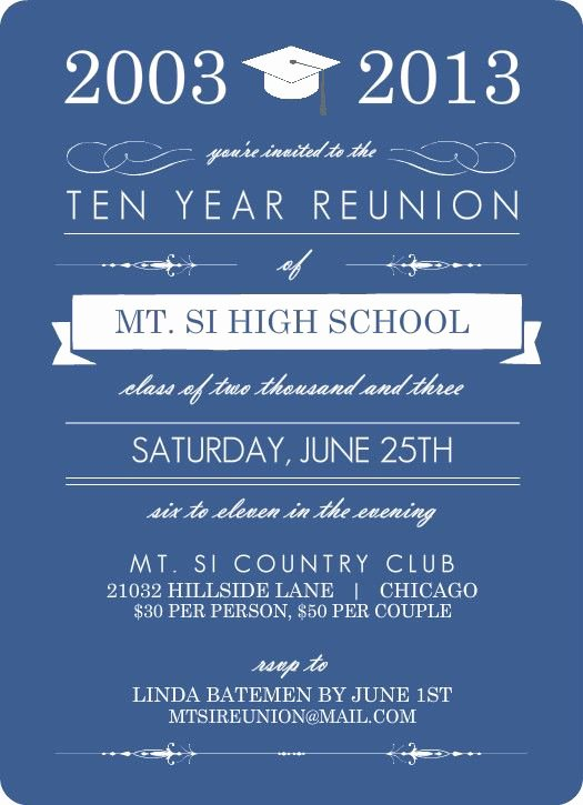 Class Reunion Flyer Template Yourweek 409b30eca25e