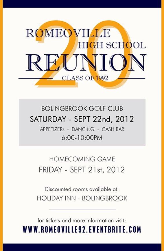 Class Reunion Invitations Google Search