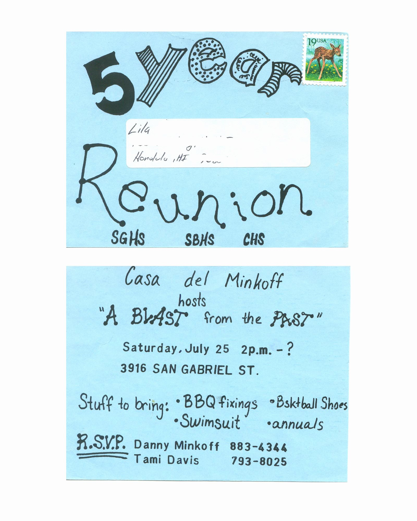 Class Reunion Invitations Templates Inspiration High