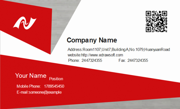 Classic Business Cards Printing 100 Pcs Fice