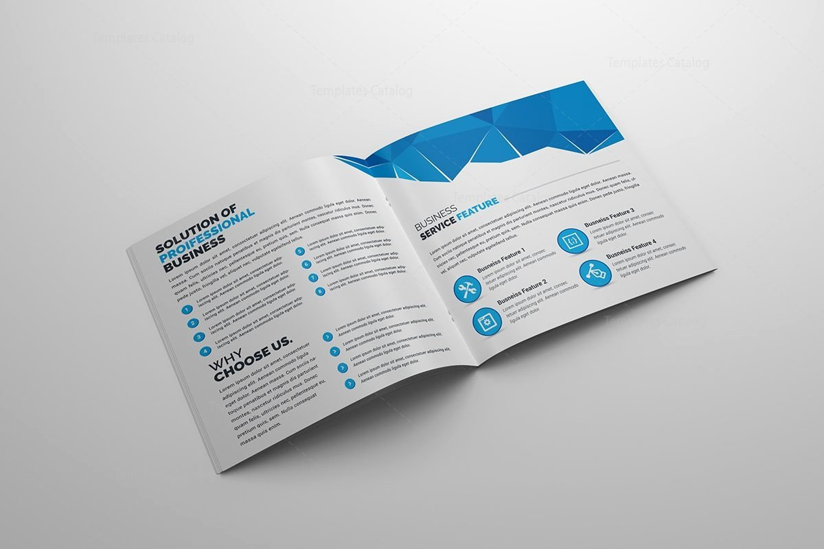 Classy Corporate Bi Fold Brochure Template 2 Template