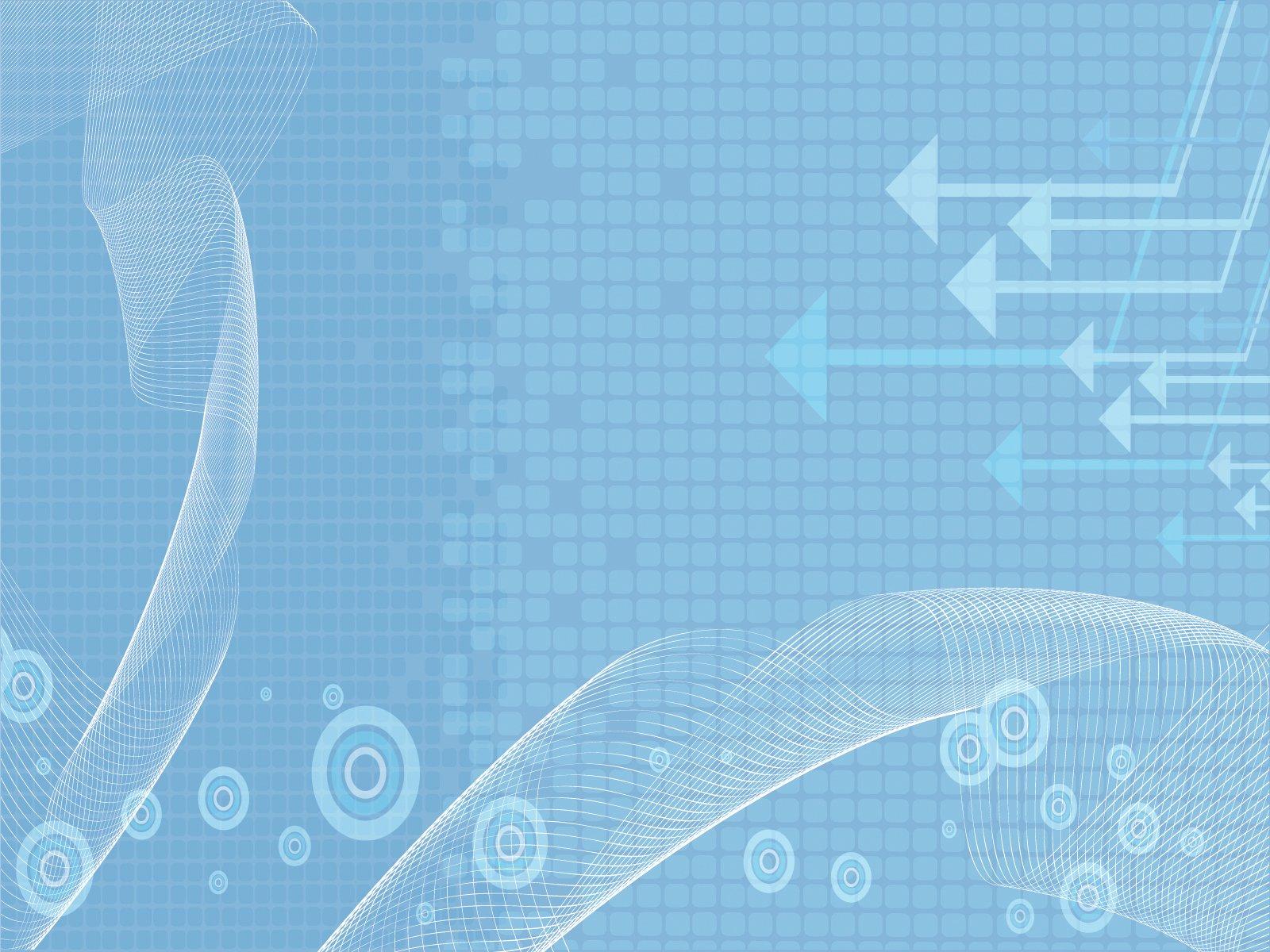 Clean Business Powerpoint Templates Aqua Cyan Blue