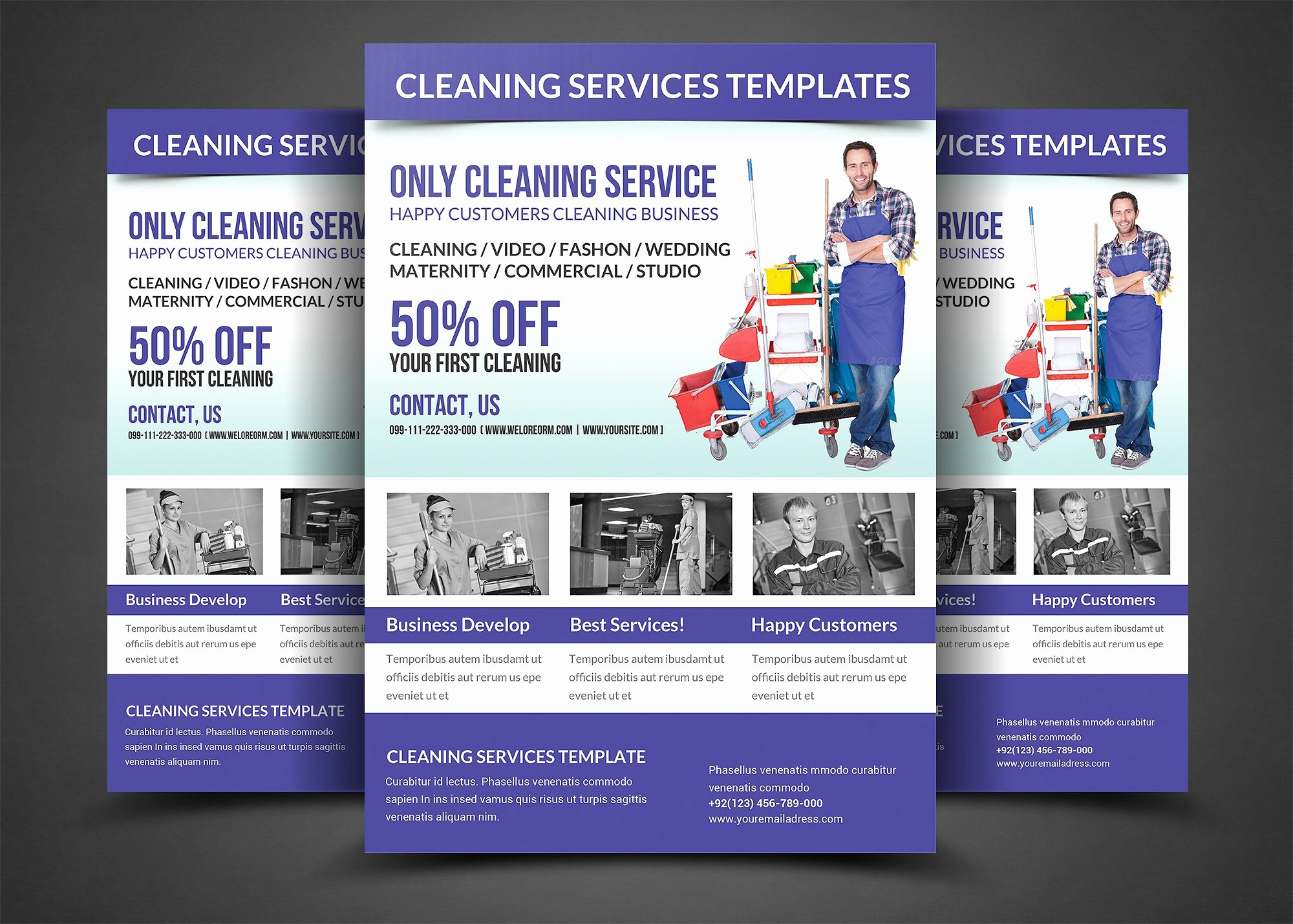 Cleaning Services Flyer Template Flyer Templates