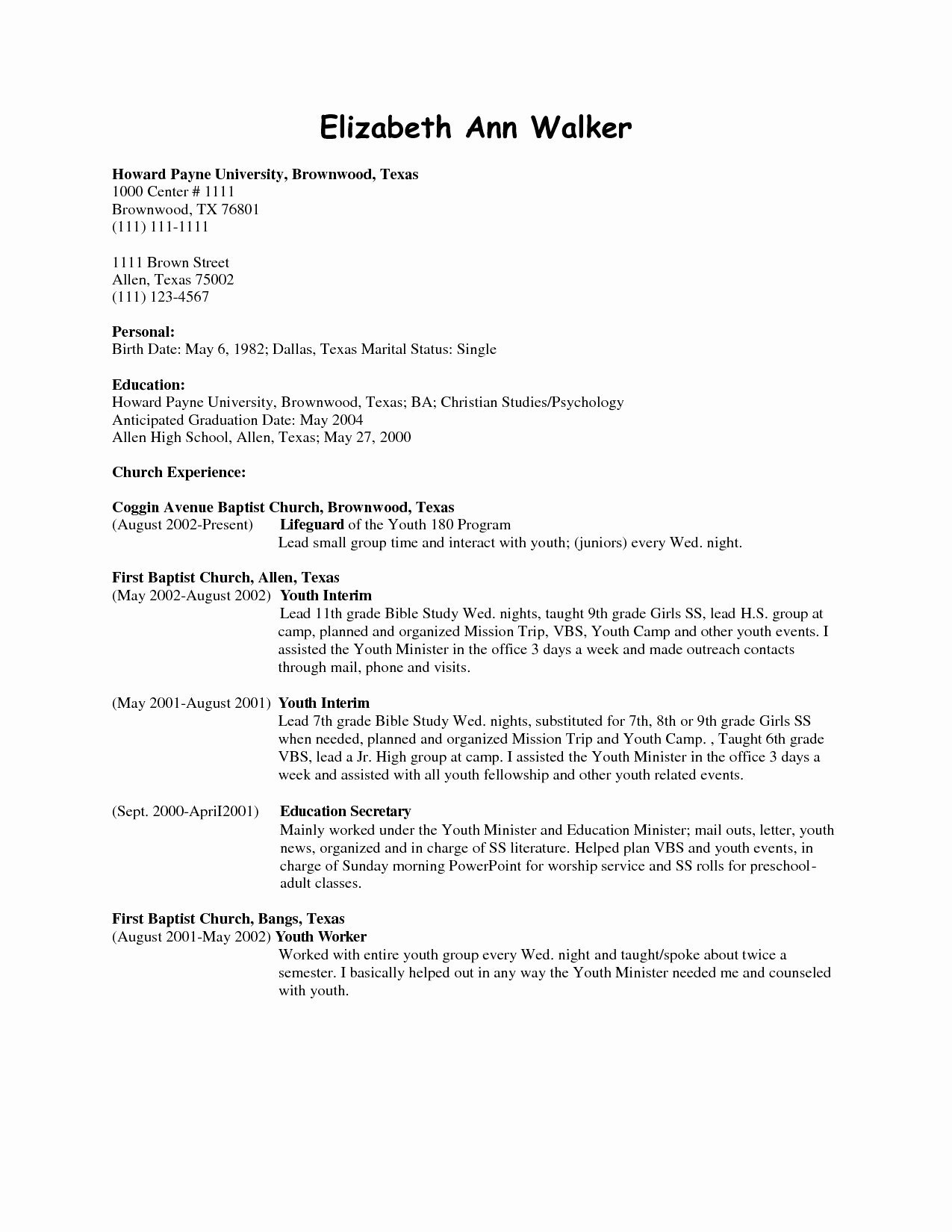 Cleaning Services Job Description Example Resume for