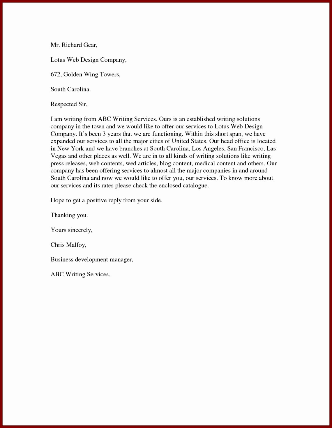 cleaning services proposal letter simple cleaning service proposal template