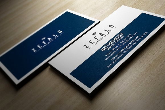 Clear Simple Business Card Business Card Templates