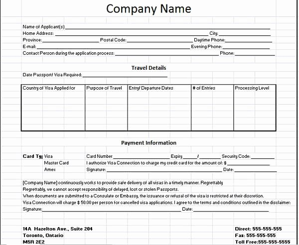 Client Information Sheet Template the Template Consists
