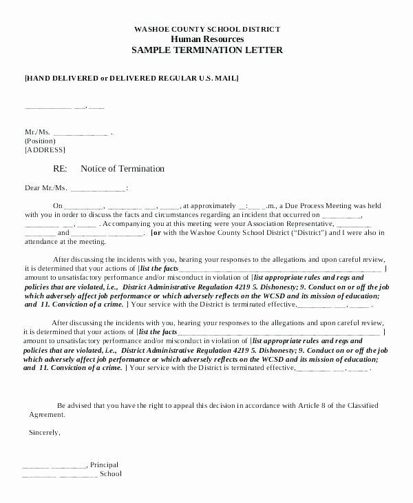 Client Termination Letter – Amere