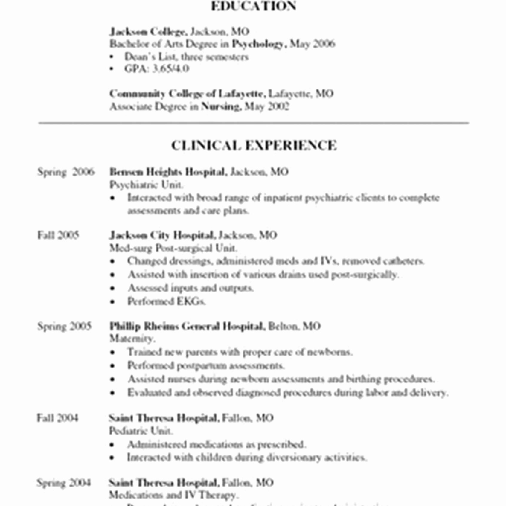 Clinical Nurse Educator Cover Letter Cover Letter Ideas