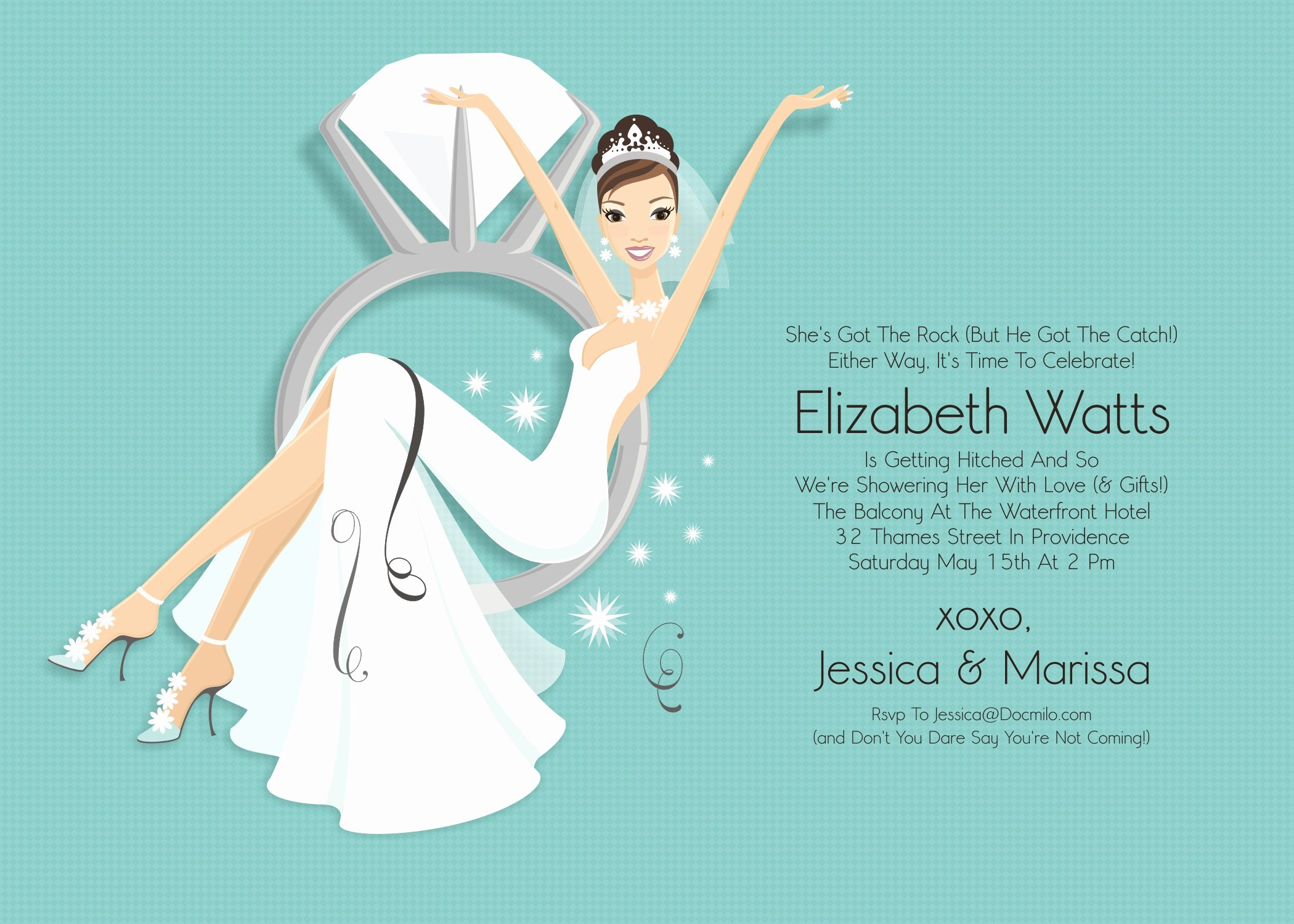 Clipart for Bridal Shower Invitations Clipart Collection