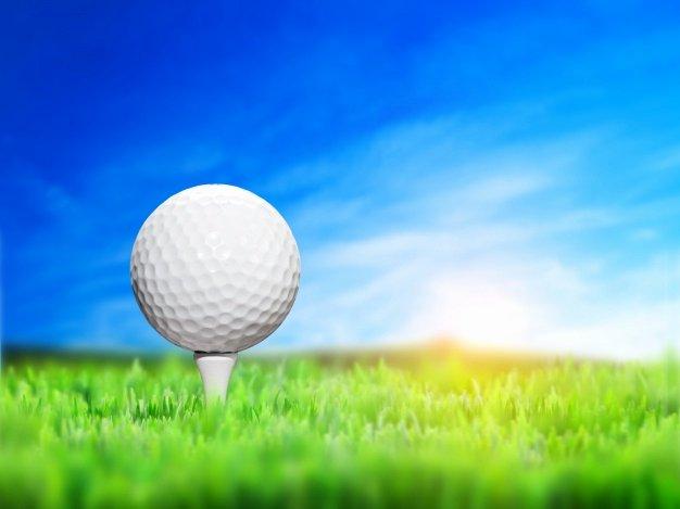 Close Up Golf Ball