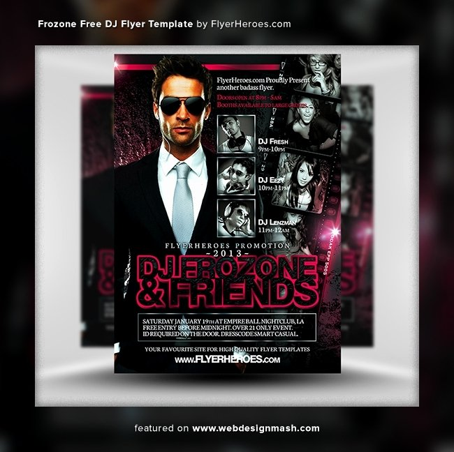 club flyer templates free