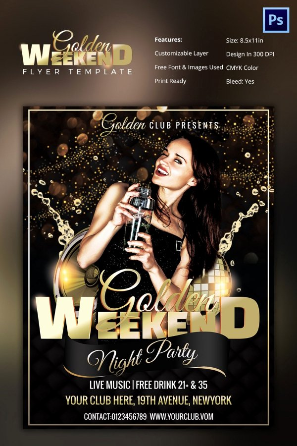 Club Flyer Templates Shop Free and Premium Psd Fly