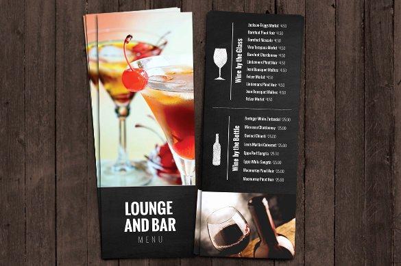Cocktail Menu Templates – 54 Free Psd Eps Documents