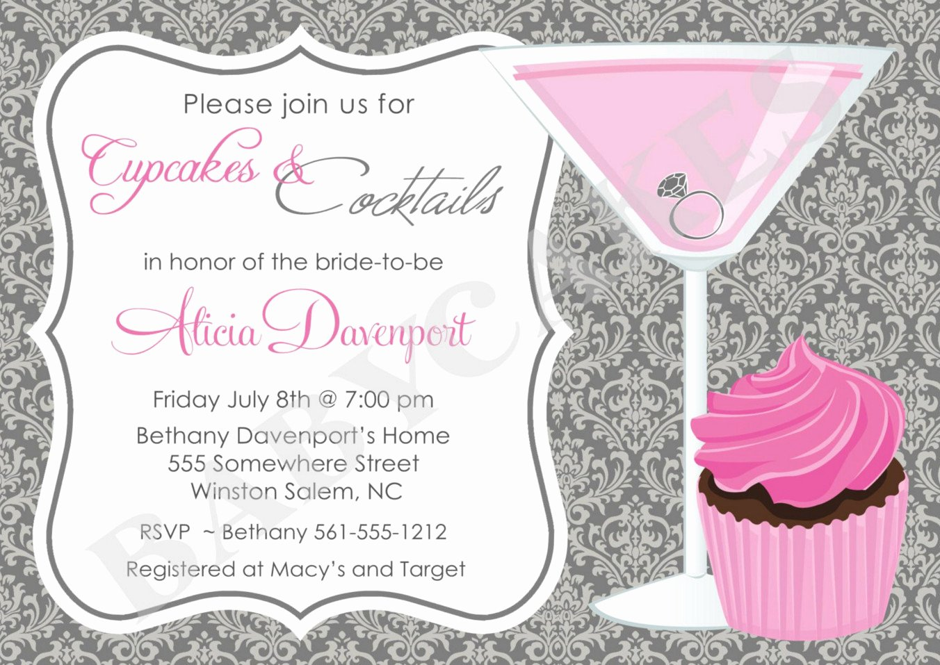 Cocktail Party Invitations Templates Free Best Cocktail