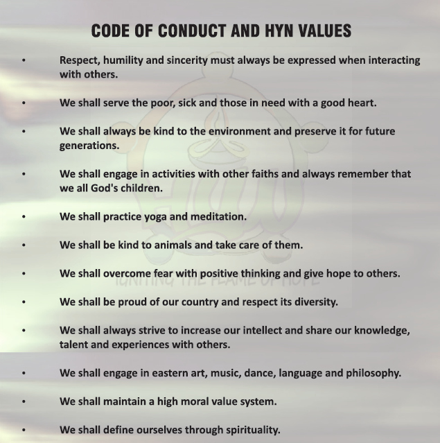 Code Of Conduct & Values