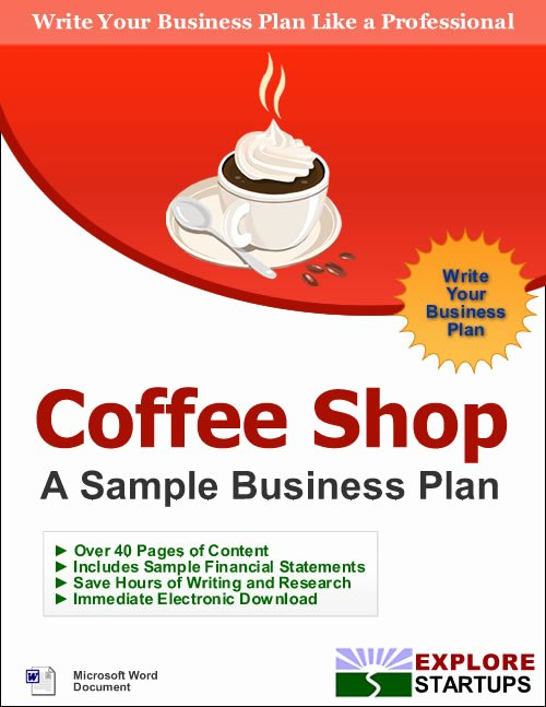 Coffee Shop Business Planexplore Startups